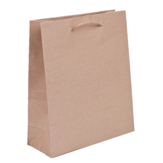Brown White Bags Paper Packaging Place